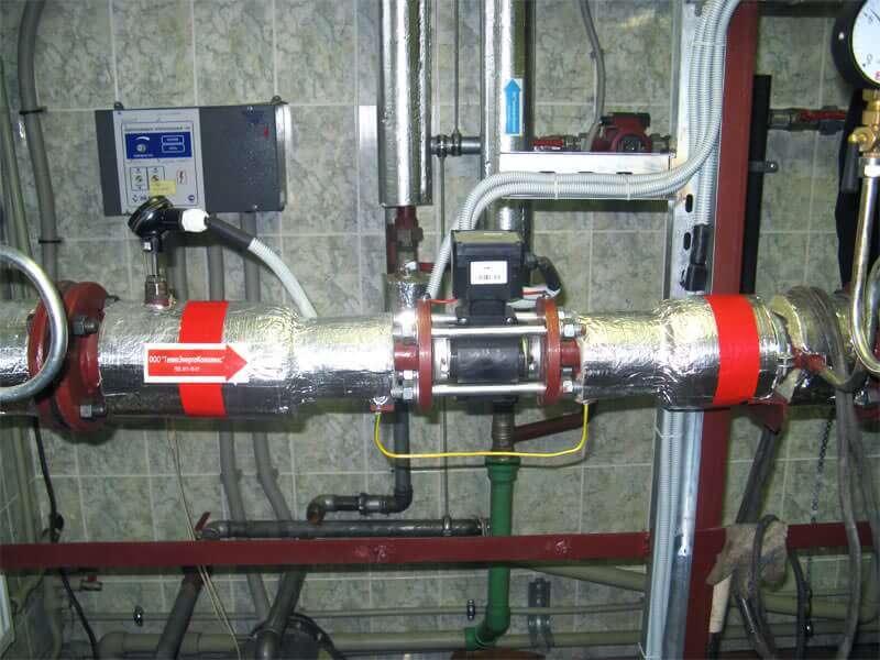 Монтаж узлов учета тепловой энергии