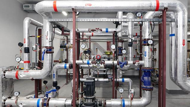 Промывка внутренних систем отопления